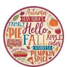 Hello Fall 7in Plt