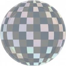 "Disco Ball Iridescent 7"" Plate"