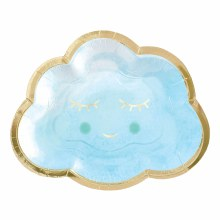 Cloud Shaped 6in Plate