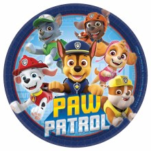 Paw Patrol 7in Plates 8ct