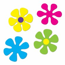 Flower Retro Cutouts