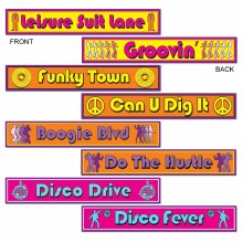 Cutouts Disco Signs