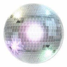 Cutouts Disco Ball