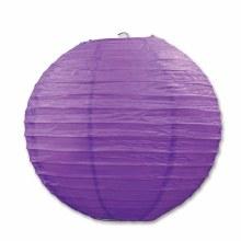 Paper Lanters Purple