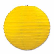 Paper Lanterns Yellow 3pk