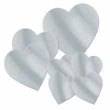 Heart Cutouts Foil Slv 7pk