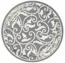 Ornamental Scroll 7in Plt Slvr