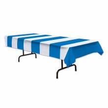 Tablecover Blue/White Stripes