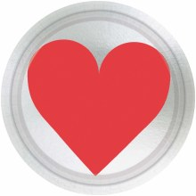 """Key To Your Heart 7"""" Plates"""