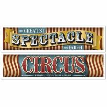 Vintage Circus Banners