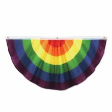Rainbow Fabric Bunting 4ft