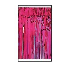 Fringe Foil Cerise/Hot Pink