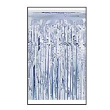 Fringe Foil Silver