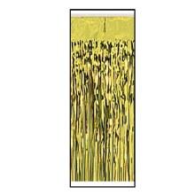Tableskirt Fringe Foil Gold