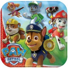 Paw Patrol 9in Plates