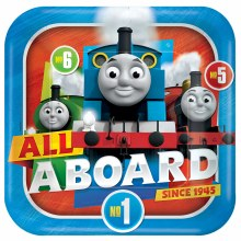 """Thomas All Aboard 9"""" Pl"""