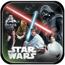 """Star Wars Classic 9"""" Plates"""