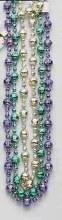 Beads Globe Mardis Gras 48in