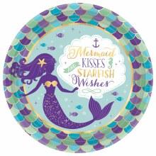 Mermaid Wishes 9in Plt