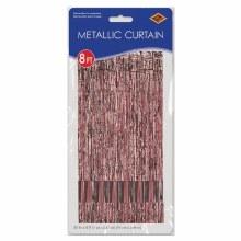 "Metallic Door Curtain Rose Gold ~ 36"" x 8'"