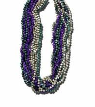 Beads Dice Mardi Gras