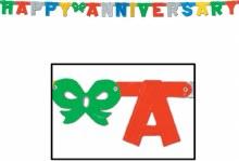 Banner Anniversary Multi Color