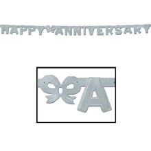 Banner Anniversary Multi Color