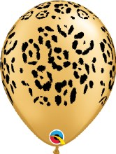 "11"" Pearl Animal Print ~ Leopard"