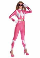 Pink Ranger Sassy Adult Small
