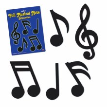 Cutouts Music Notes Small