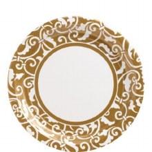 Ornamental Scroll 9in Plt Gld
