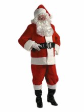 Santa Suit Rental Quality XL