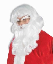 Wig Santa w/ Beard