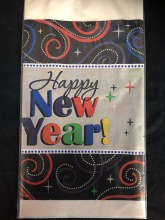 Cheers New Year Tablecover