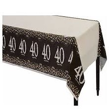 Sparkling 40 Tablecover