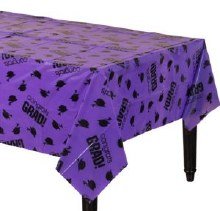 School Colors Purple Tablecover
