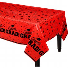 School Colors Tablecover Red