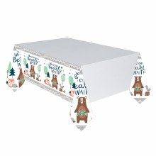 Bear-ly Wait Paper Tablecover