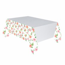 Floral Baby Paper Tablecover