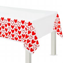 Heart Day Tablecover