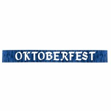 Banner Oktoberfest Metallic