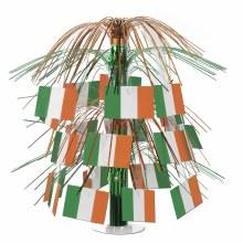 Centerpiece Irish Flag