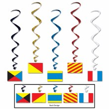 Whirls Nauticle Flags