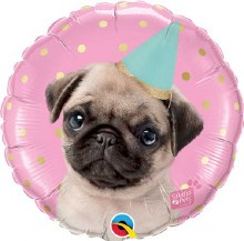 """Party Pug ~ 18"""""""