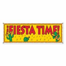 Banner Fiesta Time