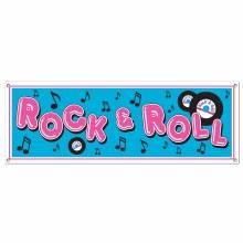 Rock & Roll Banner