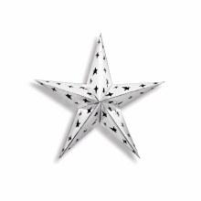 "Foil Star 12"" Silver"