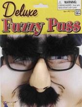 Glasses Fuzzy Puss
