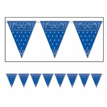 Bandana Pennant Blue