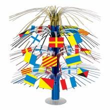 Nautical Flags Centerpiece